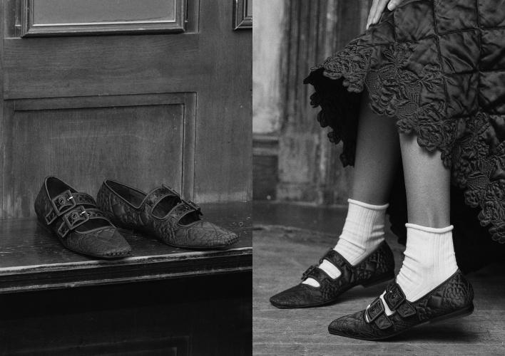 嫌上班平底鞋太老派?小CK這雙聯黑包鞋超夢幻!讓OL下班約會也能穿!-3