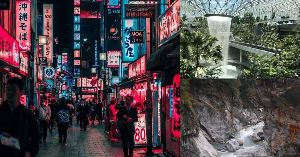 台灣三度蟬聯「亞洲最佳旅遊目的地」第一名