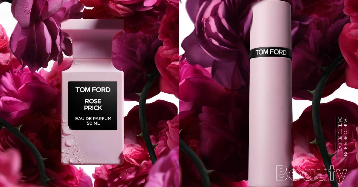 "Tom Ford香水推薦這款!2021粉紅""禁忌玫瑰香氛""限量開賣,迷你隨身版只要2000上下"
