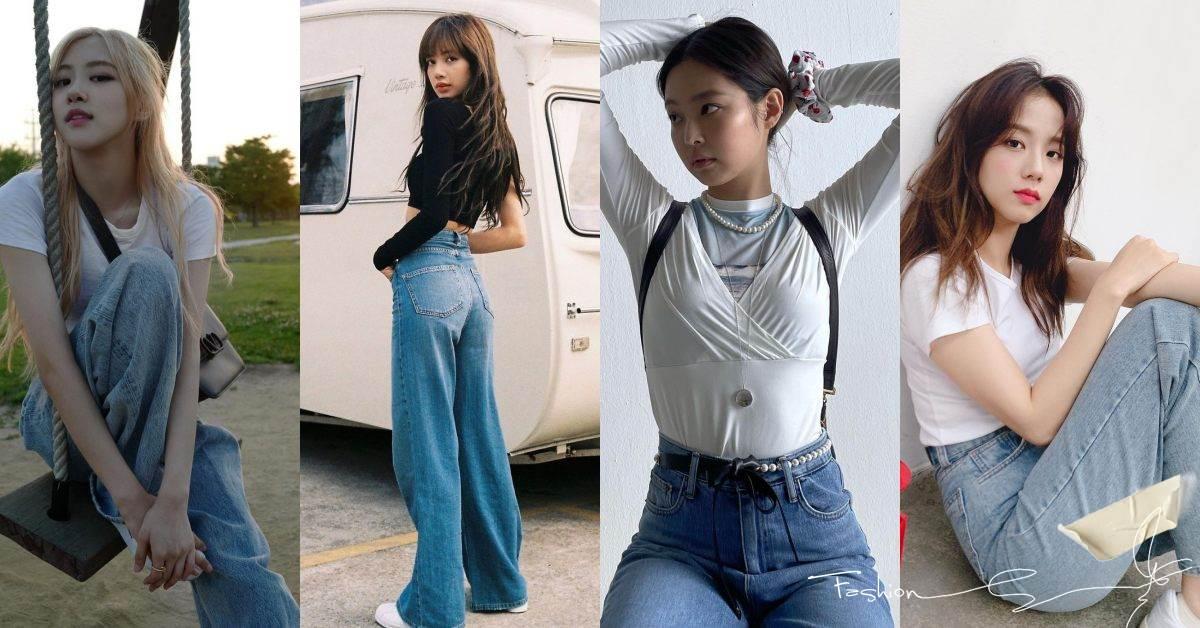 牛仔褲穿搭南韓女團BLACKPINK親自示範!Lisa、Jennie到智秀,這4招穿搭讓你擁有逆天長腿