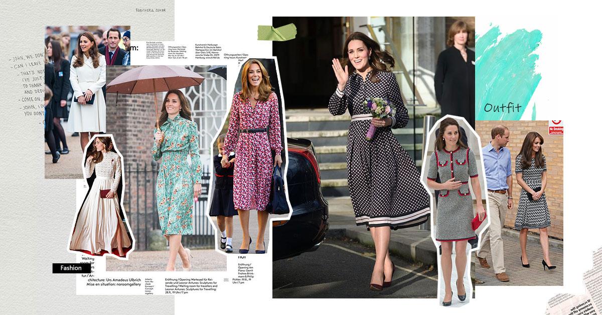 凱特王妃穿搭品牌推薦Top7!Max Mara、Prada、MK...Self-Portrait洋裝台灣就買得到