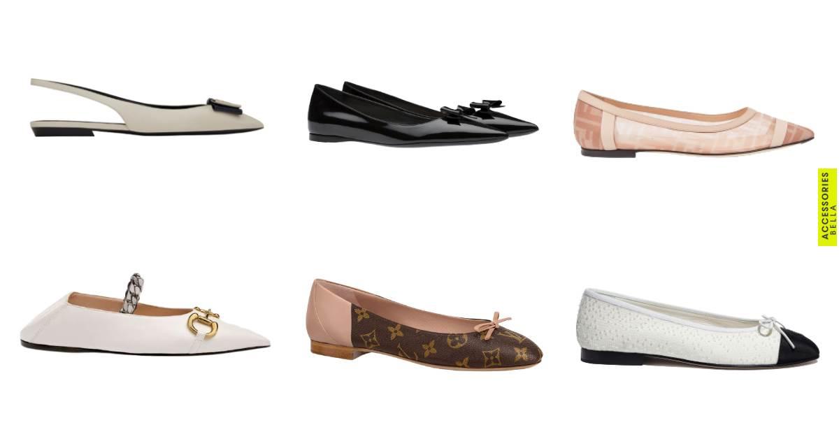 平底鞋推薦Top10 !Chanel、LV、Gucci、Dior...舒適度、時髦度完勝老爹鞋