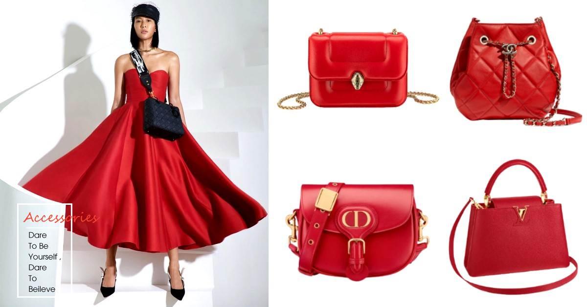 紅色包包推薦Top 10 !LV、Chanel、Celine..色彩心理學家認為「紅色」帶來好人緣!