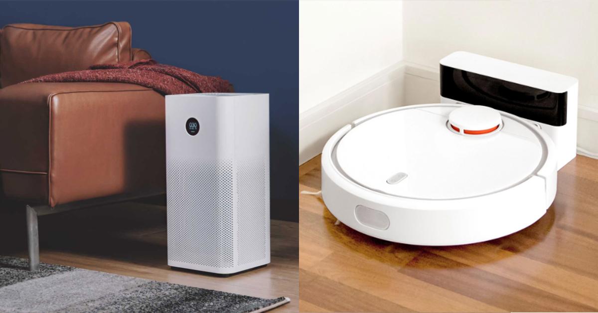 家電也要很時髦!小米雙11必買掃地機器人、空氣清淨機