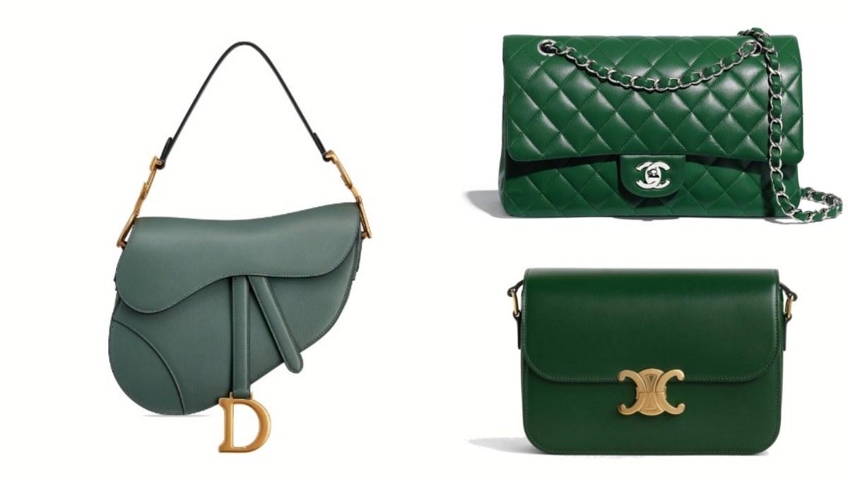Chanel、Celine到Dior全都推出「夜幕綠」?原來跟 iPhone 11 最搭的包就是這5款