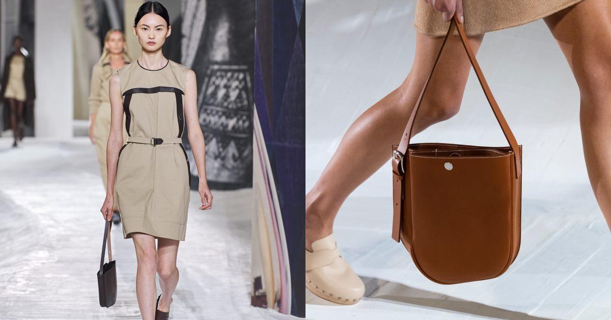 """凱莉包、柏金包遇""""強敵""""!Hermès 2021春夏巴黎時裝週推出全新「馬鞍包」先跟妳預支明年薪水!"""