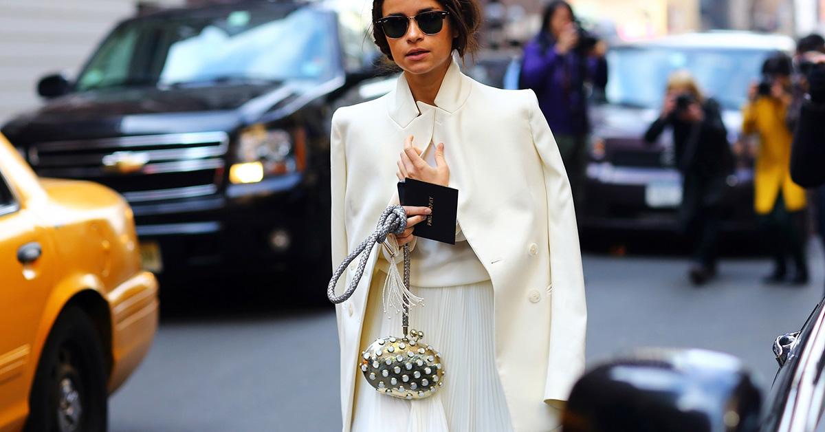 白色外套好看卻顯胖?三種穿法讓你顯瘦又時尚
