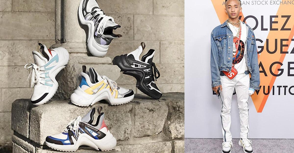 就是這雙LV復古潮鞋燒得我體無完膚!最大尺碼有42號可以和男朋友穿情侶鞋!