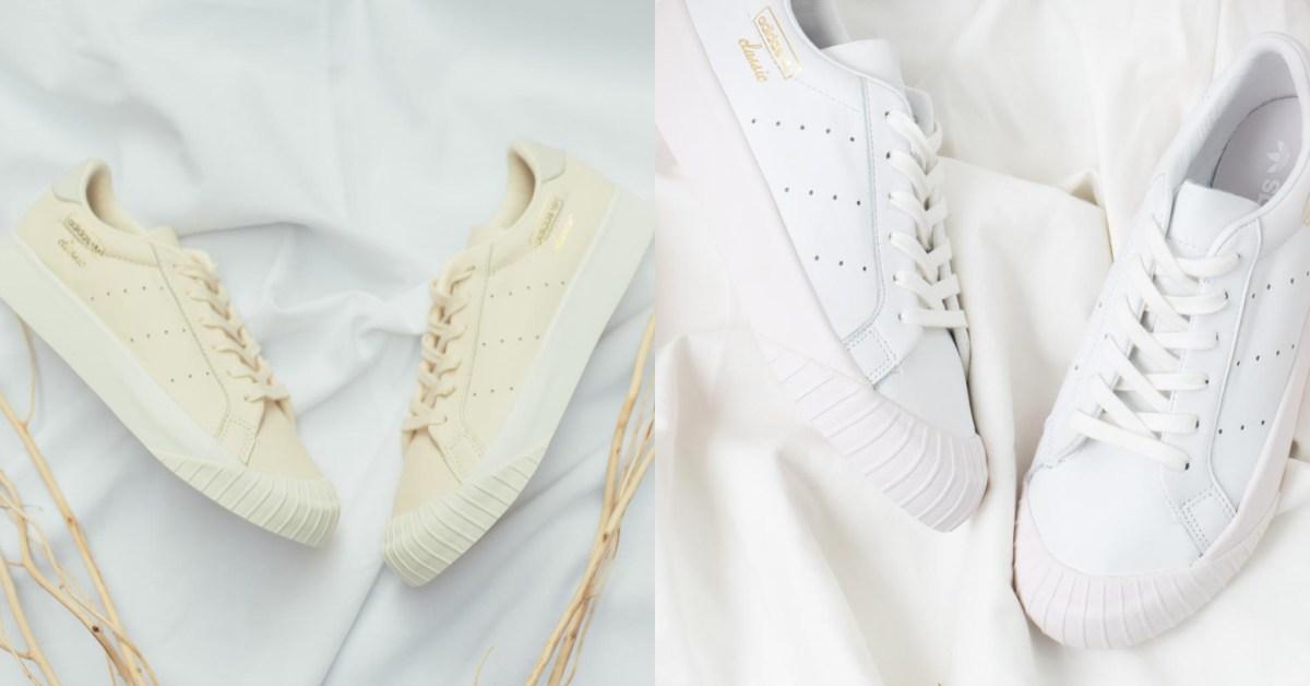 adidas Originals新款「餅乾鞋」搶起來!夢幻粉白、純淨裸膚色跟姐妹一起買