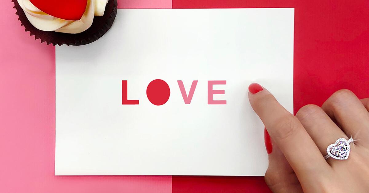以愛為名!HEARTS ON FIRE用最接近幸福符號的心型鑽戒詮釋愛情!