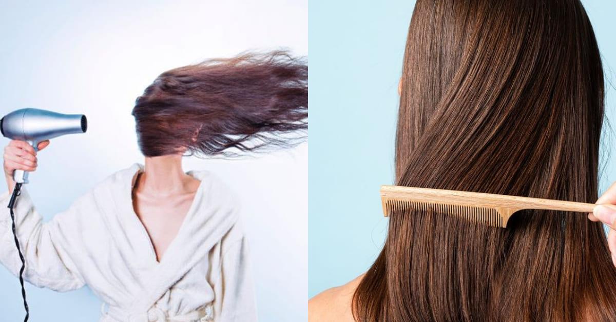 頭髮保養5大禁區!綁髮睡覺、自然乾, 「這個」地雷妳每天都在做