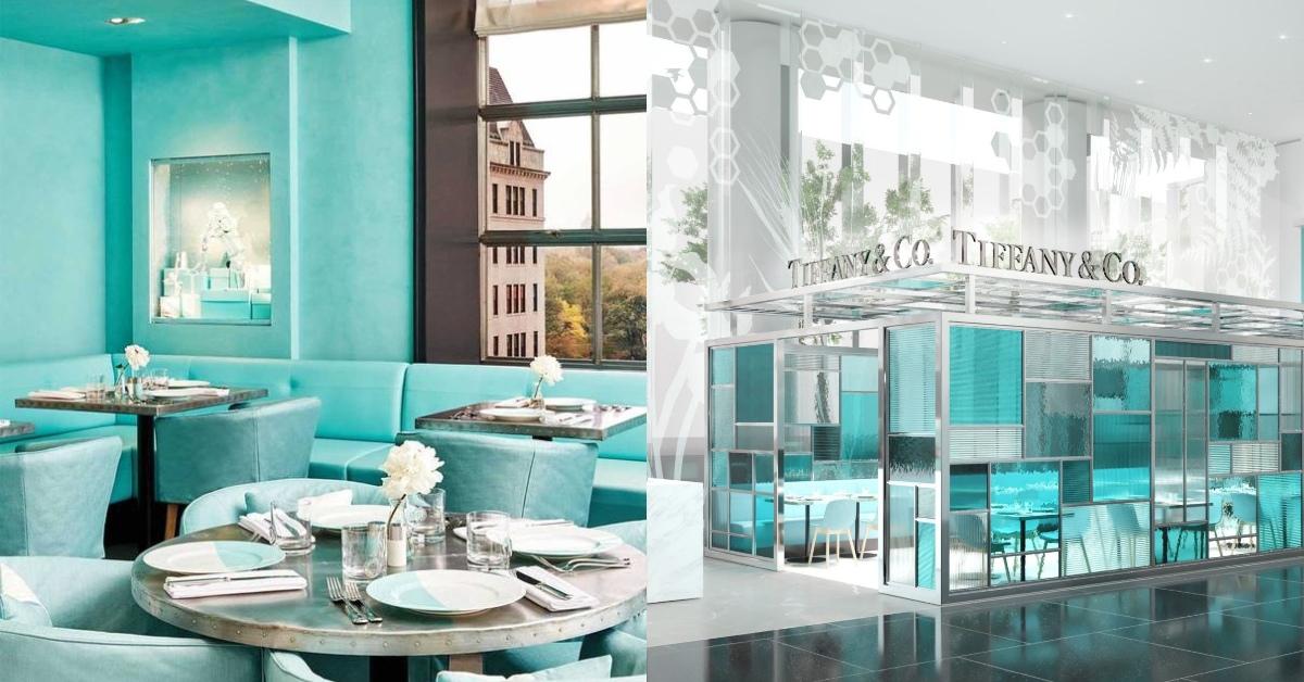 亞洲首間「Blue Box Cafe」開幕!置身夢幻Tiffany綠玻璃屋喝下午茶完成少女夢