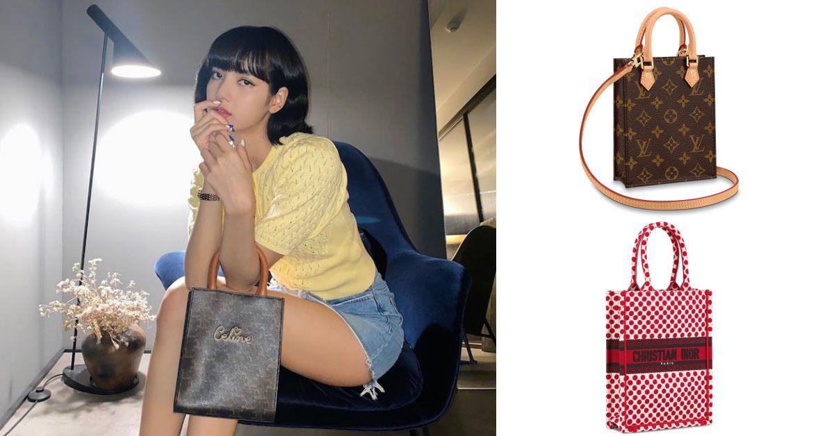 LV、Dior到Celine都搶推!連BLACKPINK的Lisa都擋不住「迷你托特包」風潮妳跟上了嗎?