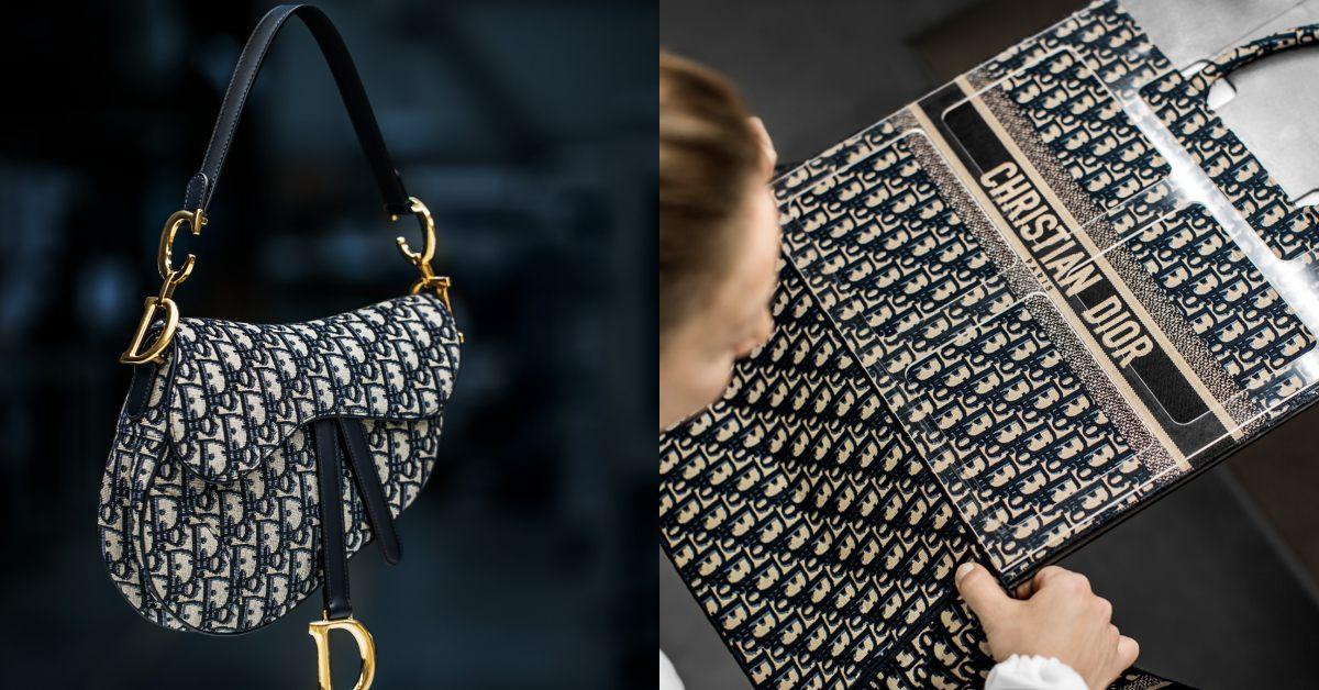 【10Why個為什麼】Dior馬鞍包、蒙田包都需要它!「Oblique老花」這10點讓男女都愛死!