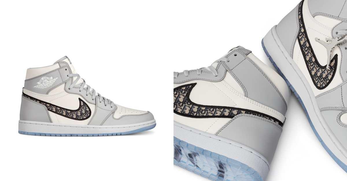 Dior Air Jordan球鞋界愛馬仕?!網路喊價快百萬,行家分析5點,讓它榮登年度投資CP最高球鞋!
