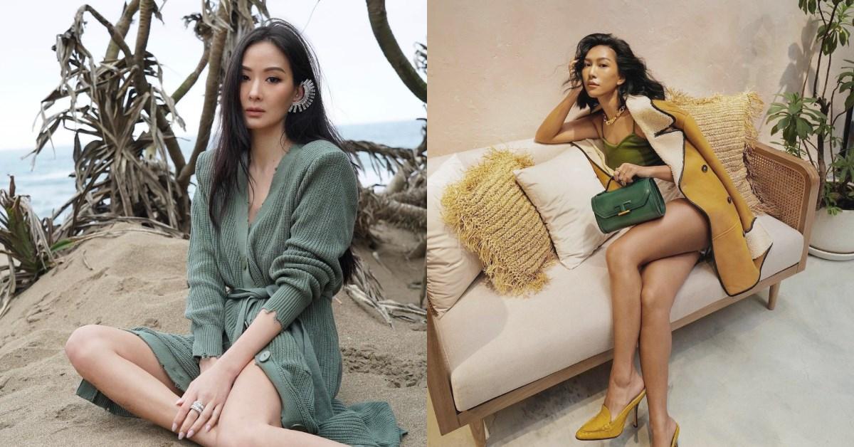 2021春夏流行趨勢關鍵字是「海藻綠」,孫芸芸、莫莉、楊丞琳...靠4大技巧做出不經意時髦感