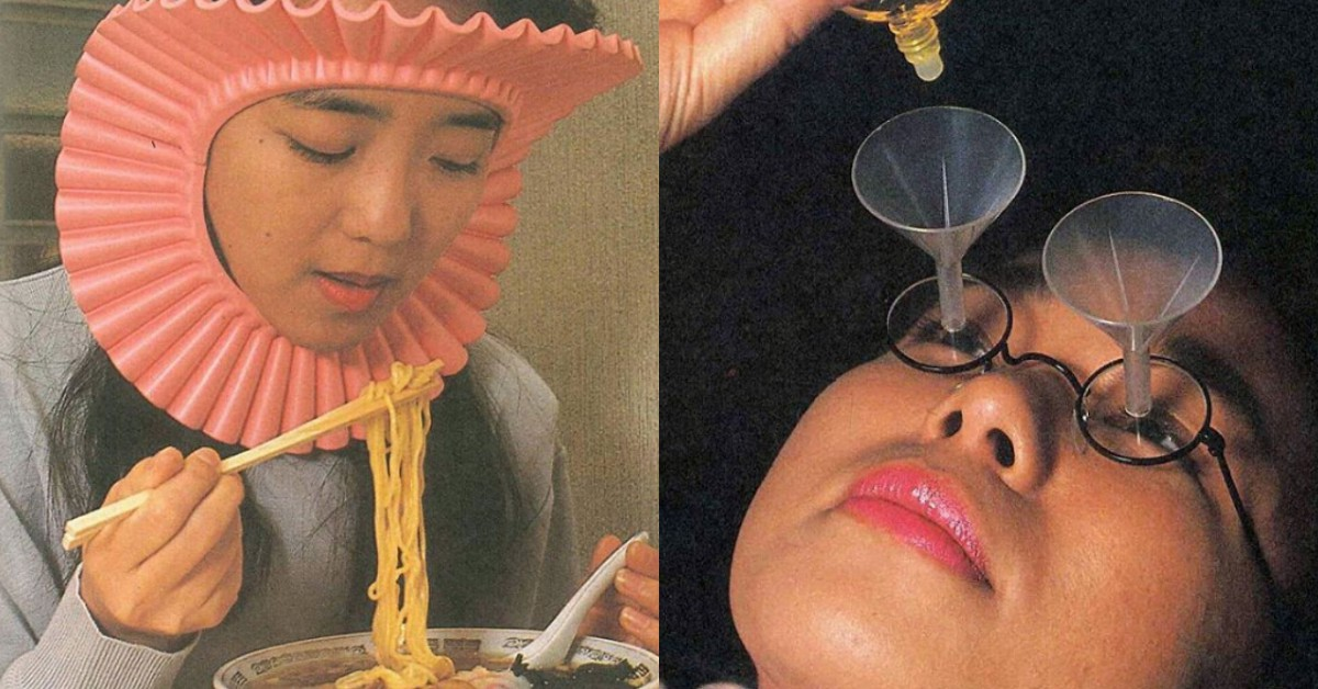 這些發明認真到令人發笑!過敏患者頭套、點眼藥水眼鏡真的有比較方便嗎?