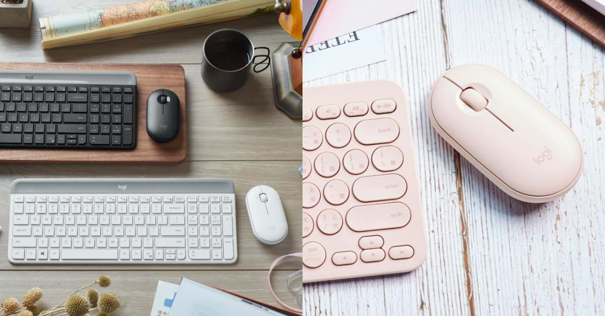 辦公小物也能跟另一半放閃!這款鍵盤+滑鼠時尚又簡約,讓你辦公桌也能level up