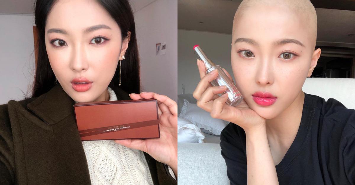 韓人氣美妝部落客「剃頭抗癌實錄」!用最美的自己感動數百萬人