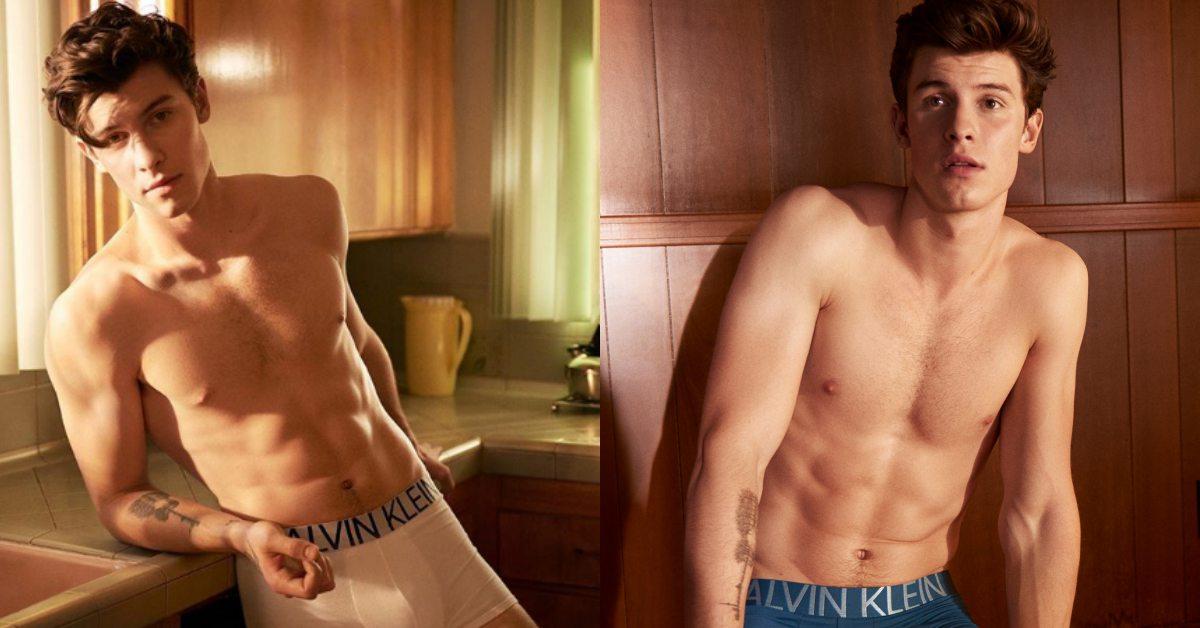 加拿大鮮肉歌手尚恩曼德斯脫了!為CK拍廣告露出結實腹肌迷妹都瘋了