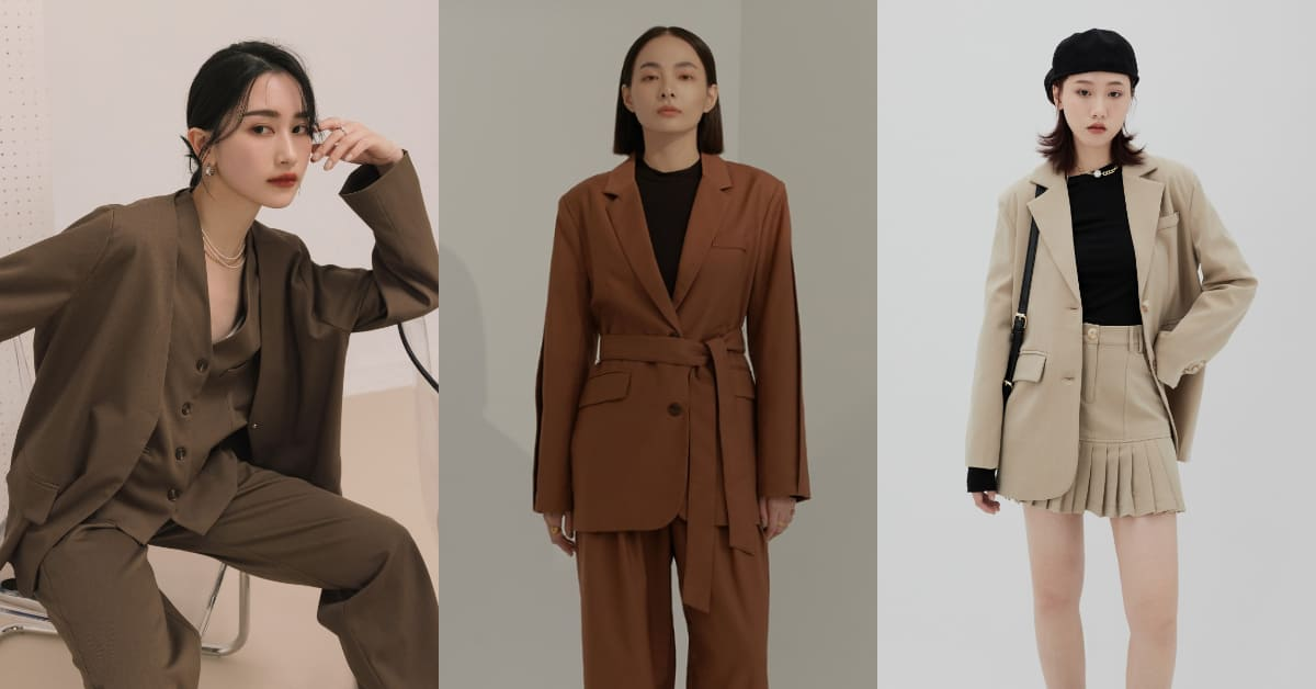 2021成套西裝穿搭,打造時尚街頭感,跳脫你對套裝的既定印象!