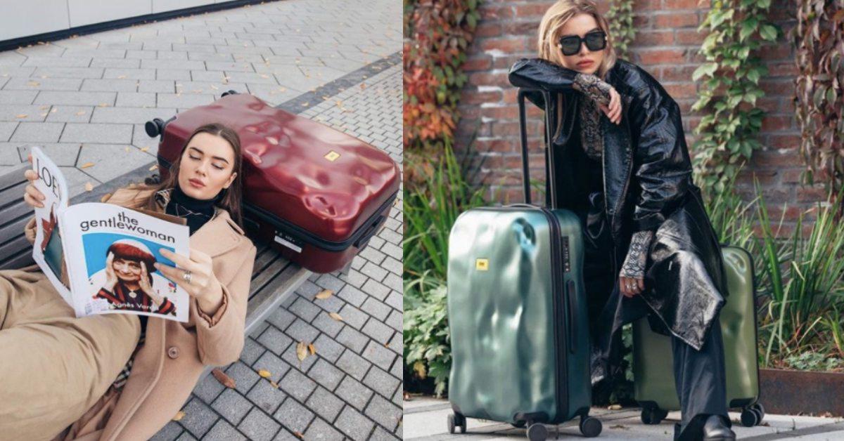 再也不怕行李箱被摔爛!義大利最潮行李箱Crash Baggage凹凸造型堪稱「預防性破壞」