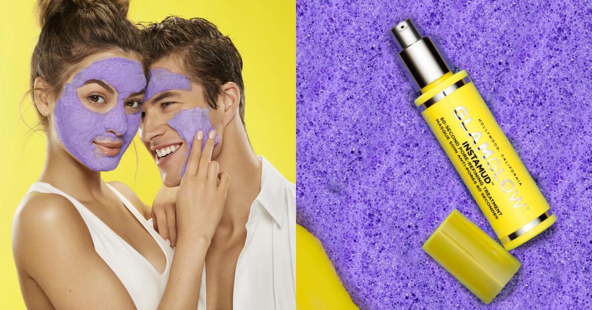 哇!真的只要60秒,Glamglow夢幻粉紫色緊緻泡泡面膜,一分鐘就讓毛孔乾淨溜溜!