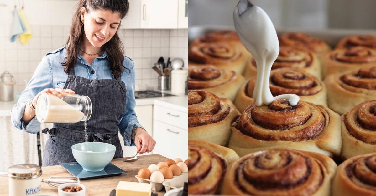 肉桂捲DIY在家就能輕鬆搞定!不需攪拌機的超簡單做法,新手也能展現大師級廚藝!