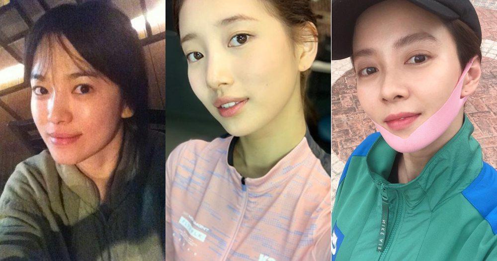 韓國這5位女星素顏幾乎「零差異」!孫藝真、宋慧喬、秀智...保養秘訣大公開