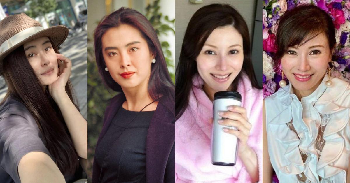 王祖賢素顏曝光!張曼玉、劉嘉玲…等8位香港女神妝前妝後,50歲白皙美膚根本逆天