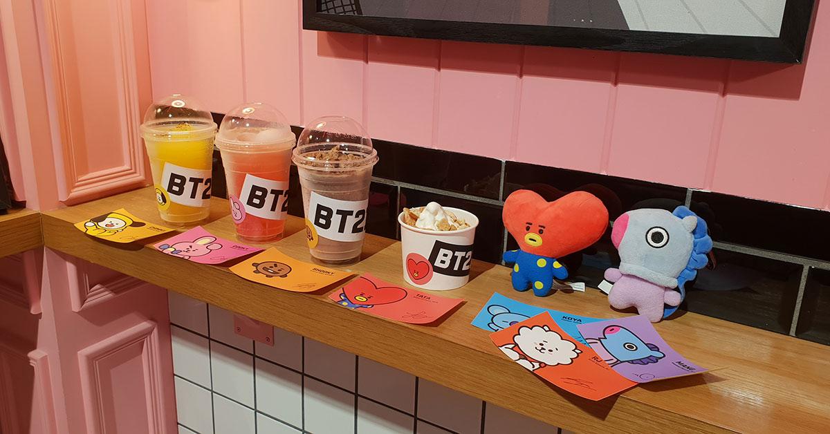 LINE FRIENDS推出BT21酷夏限定飲品,七種口味讓你品嘗偶像魅力