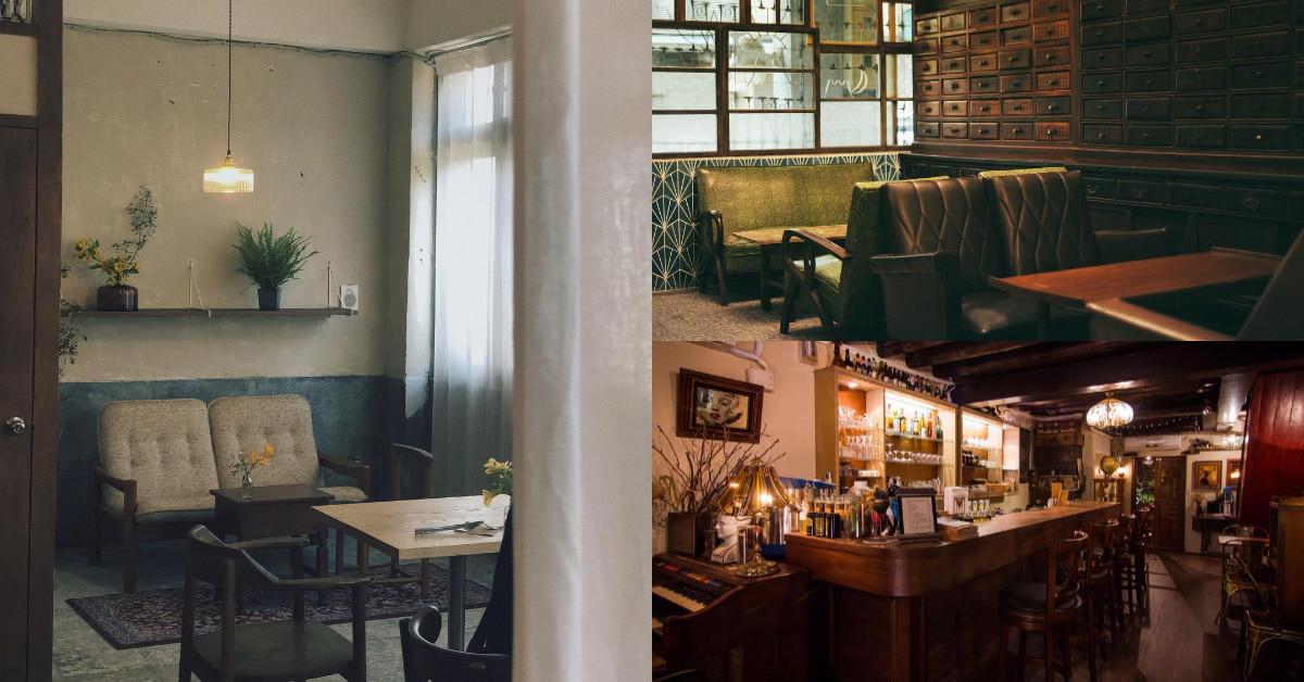 大稻埕咖啡廳推薦這5間!「三層」甜點、氣氛好,但謝絕網美,「AKA」號稱大稻埕最神秘老宅咖啡