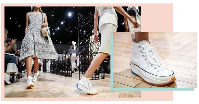 厚底、色塊、輪胎紋,這雙出現在倫敦時裝週的 Converse 真的超可愛!!