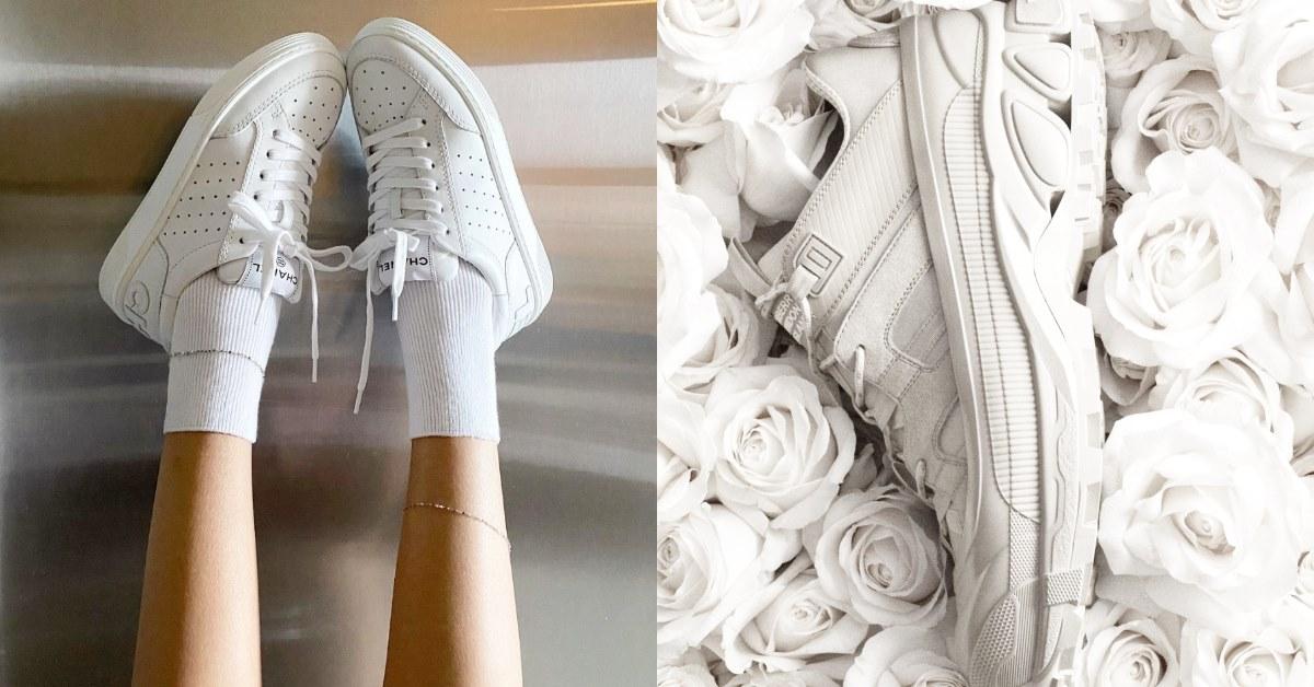小白鞋推薦這15雙!Chanel、LV、Dior、Gucci、Balenciaga.... 2021春夏要增高、要時髦缺它不可