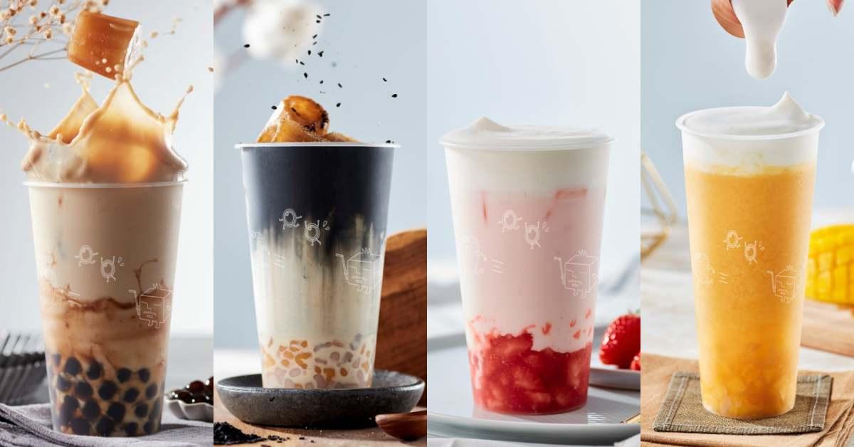 ICE MONSTER把雪花冰變成手搖飲!4款必喝清單別錯過,濃郁茶冰塊不再怕冰塊融化