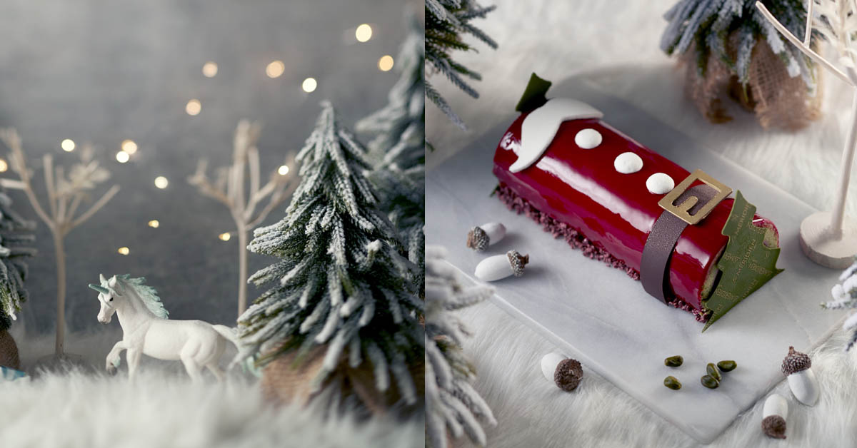 寒舍艾美巧克光廊 獻上耶誕迷蹤真摯祝福