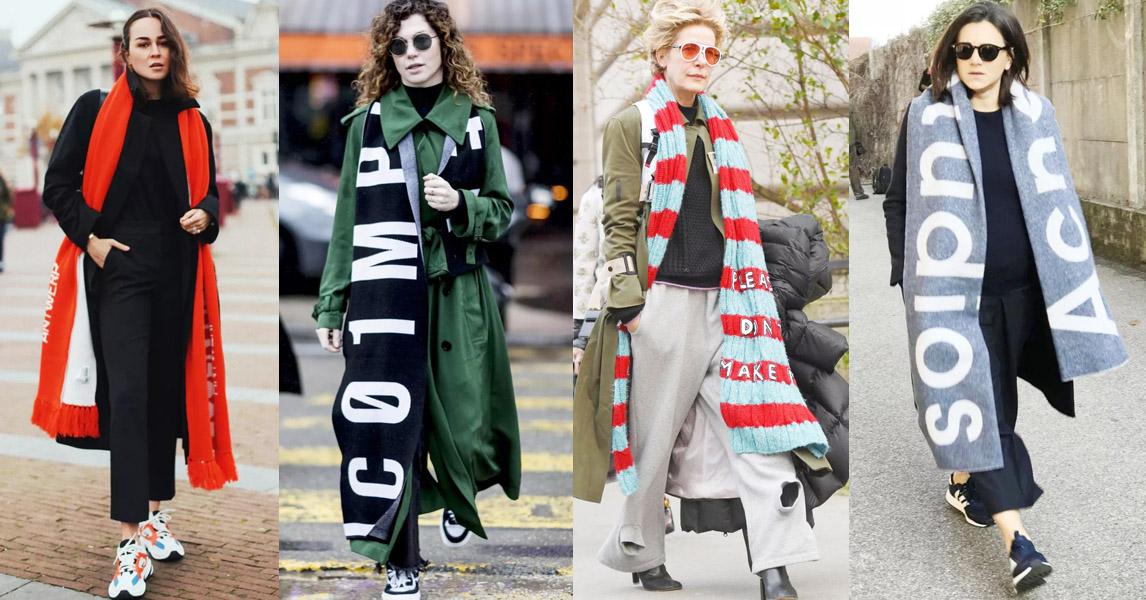 冬天圍巾該怎麼買?2019潮人街拍告訴你:「今年圍巾愈長愈好!」