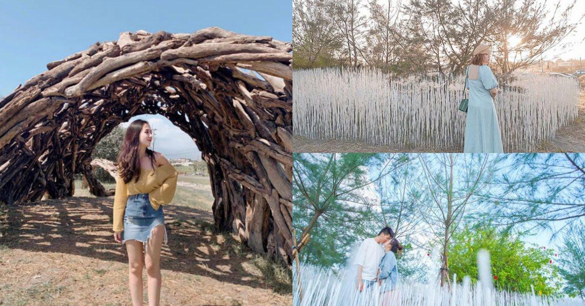 2019宜蘭「壯圍沙丘地景藝術節」11月登場 !漂流木秘境、10萬白竹籤打造雪景