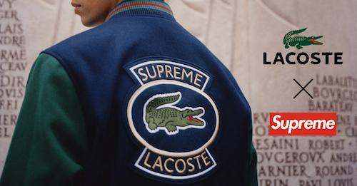 帥過男友就趁現在!即刻開賣 Lacoste × Supreme 全系列單品完整公開!