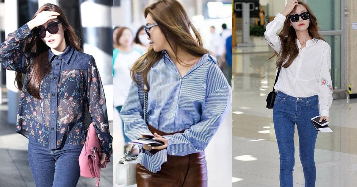 最會穿襯衫的女人Jessica 絕不出錯的搭配規則