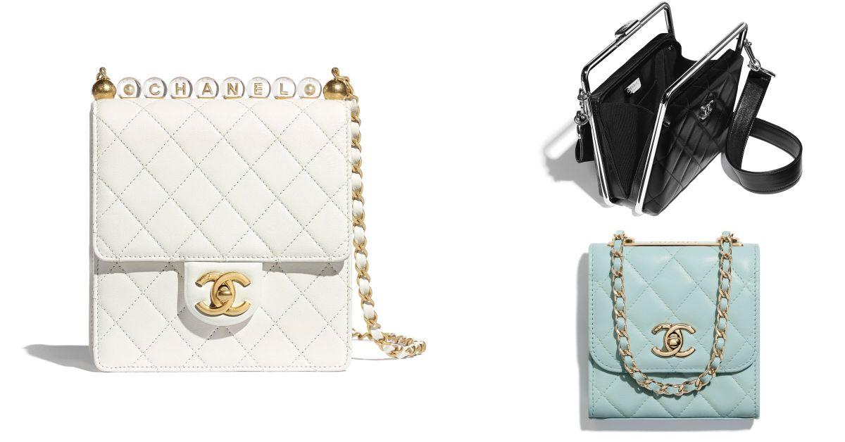 Chanel「小方包」真的太迷人!透明Logo串珠、復古提把超夢幻設計誰能不愛?