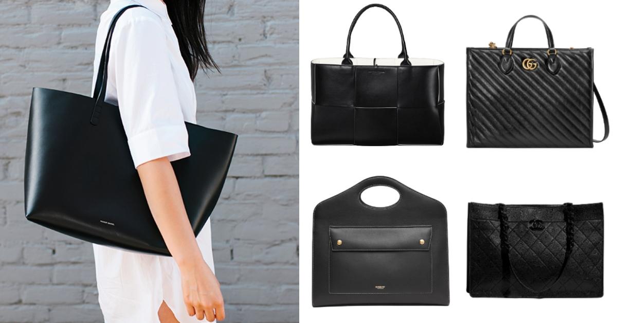 2020托特包推薦Top 10!Chanel、Dior、LV...大尺寸黑色托特通勤族最愛