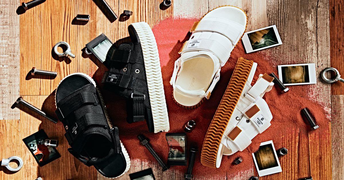 從韓國燒過來的餅乾鞋推出「台灣限定」涼鞋!靈感來自台灣