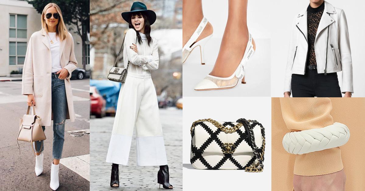 白色單品推薦Top 8!Chanel 、BV、Dior...優雅時髦的關鍵字就是白