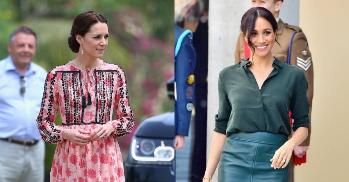 你以為皇室成員都一定穿名牌?凱特王妃、梅根馬克爾都穿過「平價品牌」帶起搶購熱潮