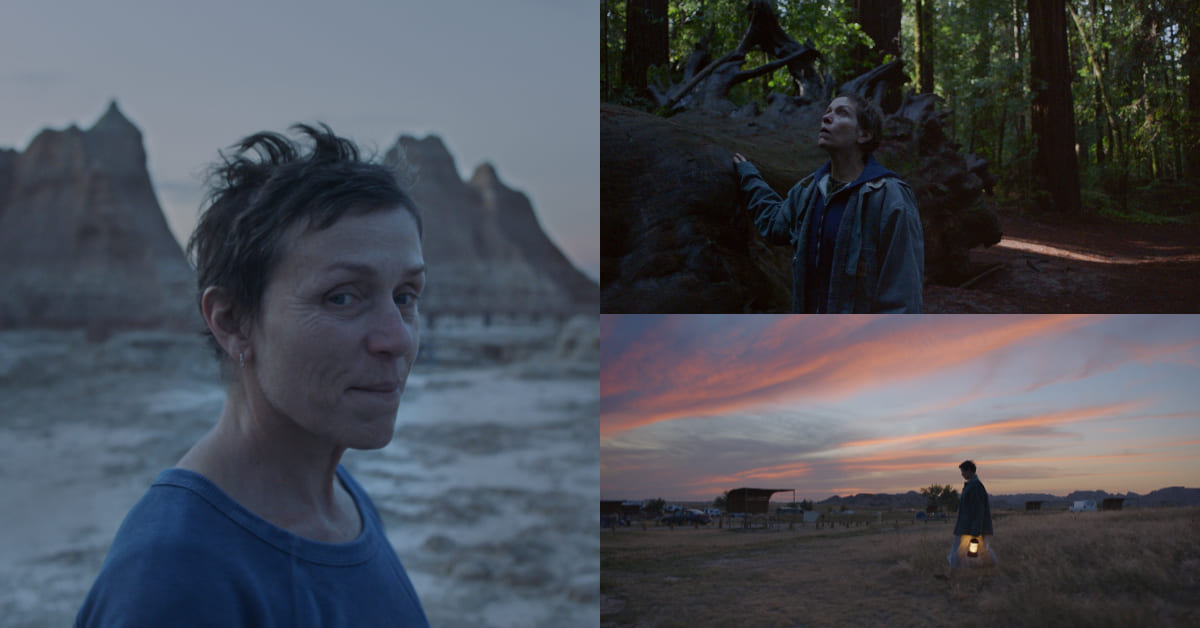 奧斯卡大熱門《游牧人生》奪冠呼聲高 ,劇本太強,兩屆奧斯卡影后甘願被放逐荒野5個月