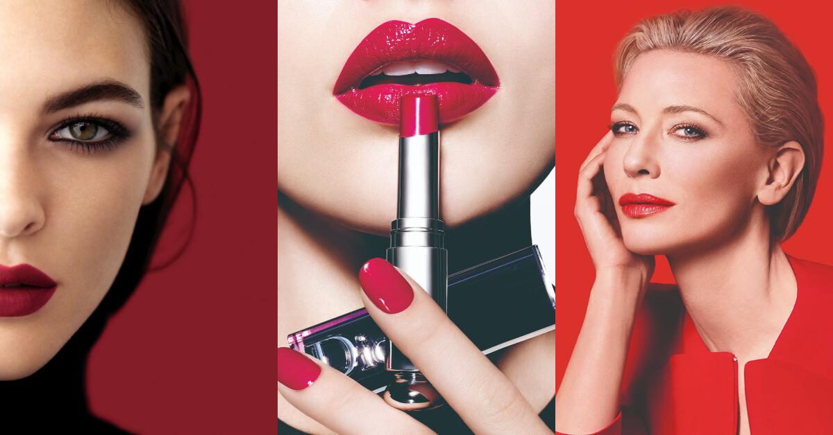2018唇膏熱賣色Top 5!Chanel, Dior, Giorgio Armani 8個專櫃口紅色號完整分析