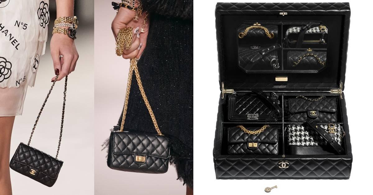 Chanel 包包收納盒太美!流浪包、2.55、Classic Flap到Boy Bag迷你版一次收藏!