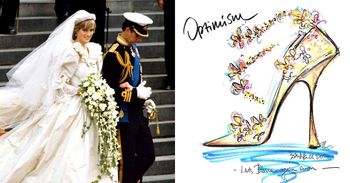 黛安娜王妃逝世23週年,御用鞋匠Jimmy Choo解密為何她離婚後只穿4吋高跟鞋?