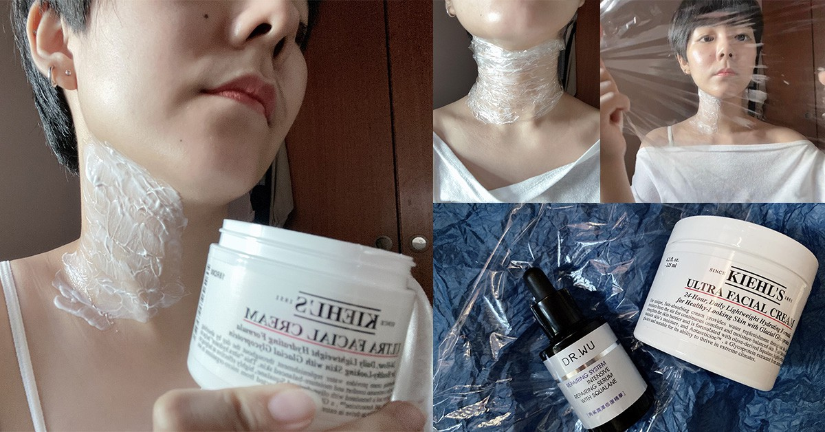 【神儂實驗室】網路瘋傳「保鮮膜也能消脖紋」?乳霜、保養油大車拼,勝出是誰實測給你看